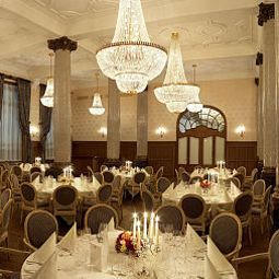 Banqueting hall Les Trois Rois Grand Hotel Fotos