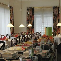 Sala colazione Cityhotel Hessischer Hof Fotos