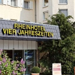 Auenansicht Vier Jahreszeiten Rhein-Hotel Fotos