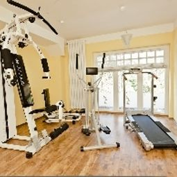 Fitness room Aurelia Hotel St. Hubertus Fotos