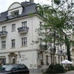 Weisses Haus Bad Kissingen Bayern