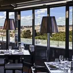 Salle du petit-djeuner situe dans le restaurant Sofitel Rome Villa Borghese Fotos