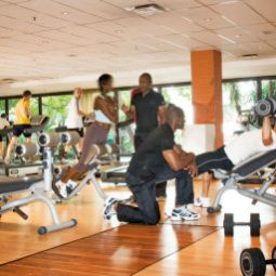 Wellness/Fitness InterContinental JOHANNESBURG SANDTON TOWERS Fotos