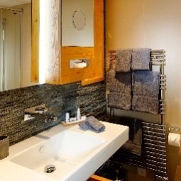 Bathroom Aspen alpin lifestyle hotel Fotos