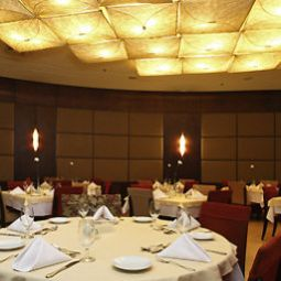 Salle du petit-djeuner situe dans le restaurant Mercure Belo Horizonte Lourdes Hotel Fotos