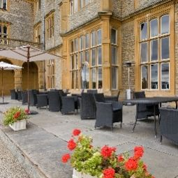 Terrasse Eynsham Hall Fotos