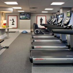 Wellness/fitness New York LaGuardia Airport Marriott Fotos