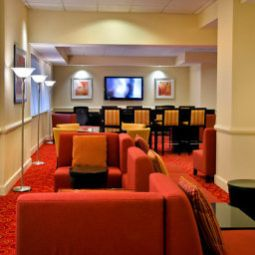 Hall New York LaGuardia Airport Marriott Fotos
