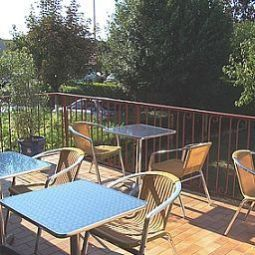 Terrasse Aurea Logis Fotos