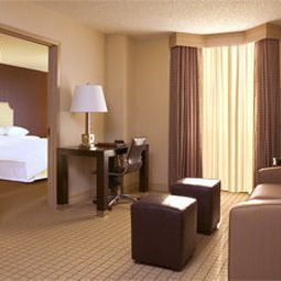 Chambre Sheraton Suites Market Center Dallas Fotos