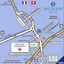 Hotel Median Geneve Airport France Ferney-Voltaire Geneve