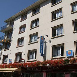 Exterior view Comfort Hotel Rouen Alba Fotos