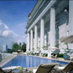 Pool The Fullerton Hotel Singapore Fotos