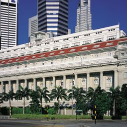 Außenansicht The Fullerton Hotel Singapore Fotos