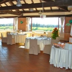 Banqueting hall Le Robinie Golf Resort Fotos