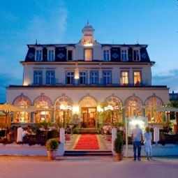 Vue extrieure Seetel Romantik Strandhotel Atlantic mit Villa Meeresstrand Fotos