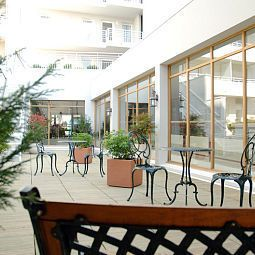 Terrasse Best Western Amiral Fotos