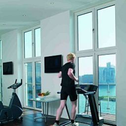 Fitness room Copenhagen Island Fotos