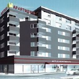 Exterior view Artus Apartments Fotos
