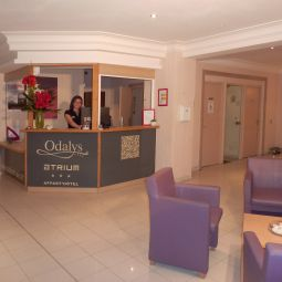 Reception Odalys Atrium Rsidence de Tourisme Fotos