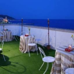 Ristorante Mediterraneo Hotel And Apartments Sitges Fotos