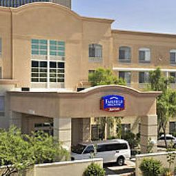 Vista exterior Fairfield Inn & Suites Phoenix Midtown Fotos