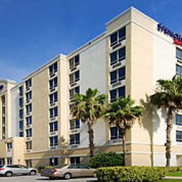 Vue extrieure SpringHill Suites Miami Airport South Fotos