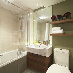 Camera da bagno Citadines Prestige South Kensington Fotos