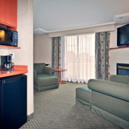 Chambre Holiday Inn Express Hotel & Suites CALGARY Fotos