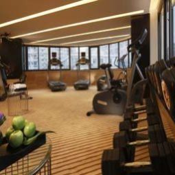 Area wellness Howard Johnson Caida Plaza Shanghai Fotos