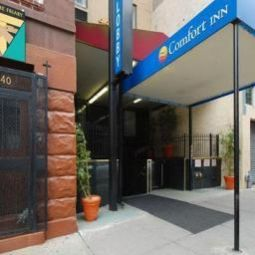 Vista exterior Comfort Inn Times Square South Area Fotos