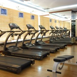 Sala fitness Golden Tulip Ashar Suites Shanghai Central Fotos