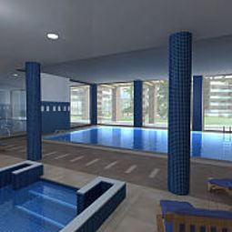 Piscine Residencial Spa Aqquaria Fotos