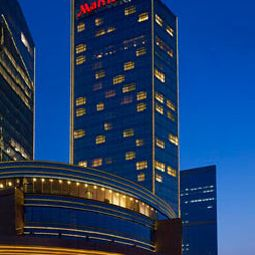 Auenansicht Beijing Marriott Hotel Northeast Fotos