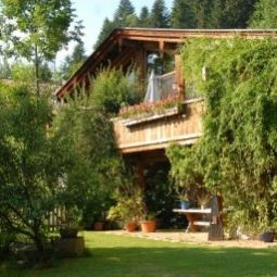 Exterior view Luxus Chalet Mhlermoos Htte Fotos