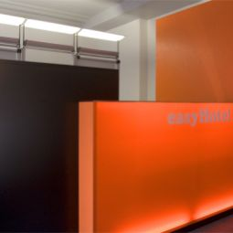 Hall easyHotel Basel Fotos