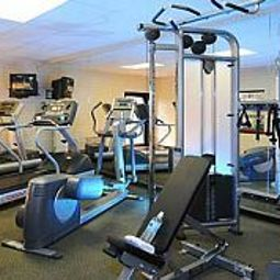 Fitness room Courtyard Houston Hobby Airport Fotos