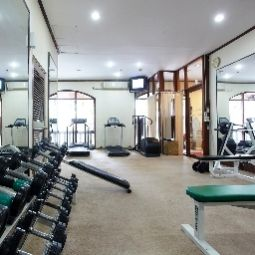 Fitness Chatrium Hotel Royal Lake Yangon Fotos