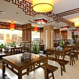 Breakfast room within restaurant Jing Guang Run Hotel Fotos