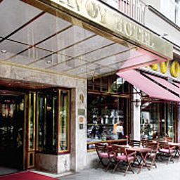Фасад Savoy Berlin Fotos