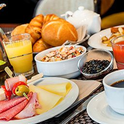 Breakfast room within restaurant Mercure Hotel Muenchen City Center Fotos