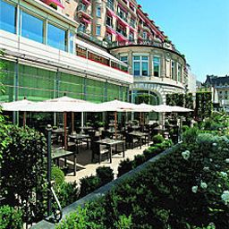 Terrace Lausanne Palace and Spa Fotos