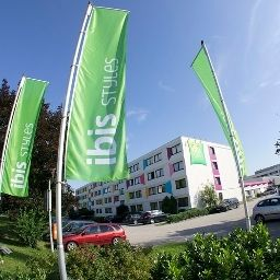 Exterior view ibis Styles Linz (ex all seasons) Fotos