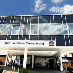 Exterior view Best Western Crown Hotel Fotos