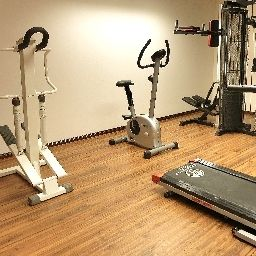 Fitness room Best Western President Fotos