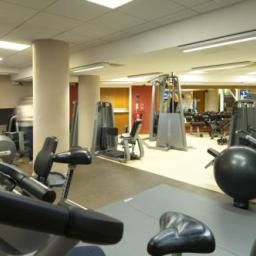 Wellness/fitness area Hilton Nottingham hotel Fotos