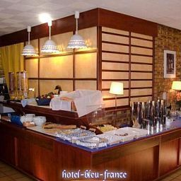 Buffet Bleu France Fotos