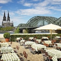 Terrace Hyatt Regency Köln Fotos