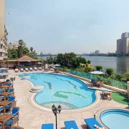 Pool Hilton Zamalek Residence Cairo Fotos