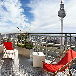 Ausblick Park Inn by Radisson Alexanderplatz Fotos